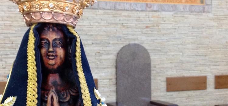 Fotos de Nsa. Aparecida Peregrina na Paróquia São José