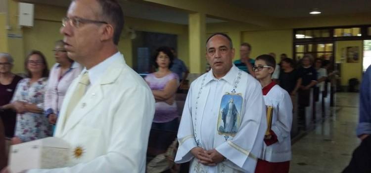 Missa das Pastorais e aniversário sacerdotal do nosso Pároco
