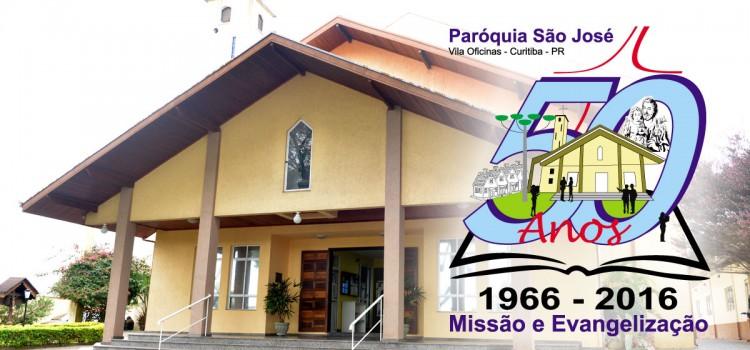 Ouça o hino em comemoração aos 50 anos da Paróquia São José