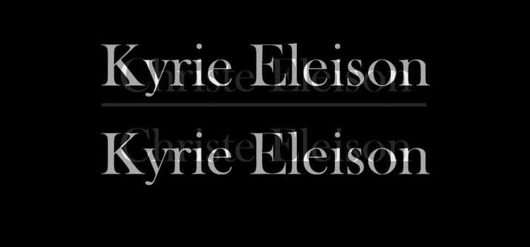 """Por que pronunciamos palavras gregas na Missa?  Conheça o profundo significado da expressão """"Kyrie eleison"""""""